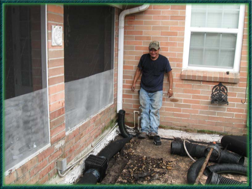 Tampa French Drains